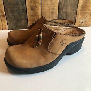 Ariat Leather Clogs